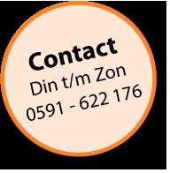Telefonisch bestellen? bel: 0591-622176
